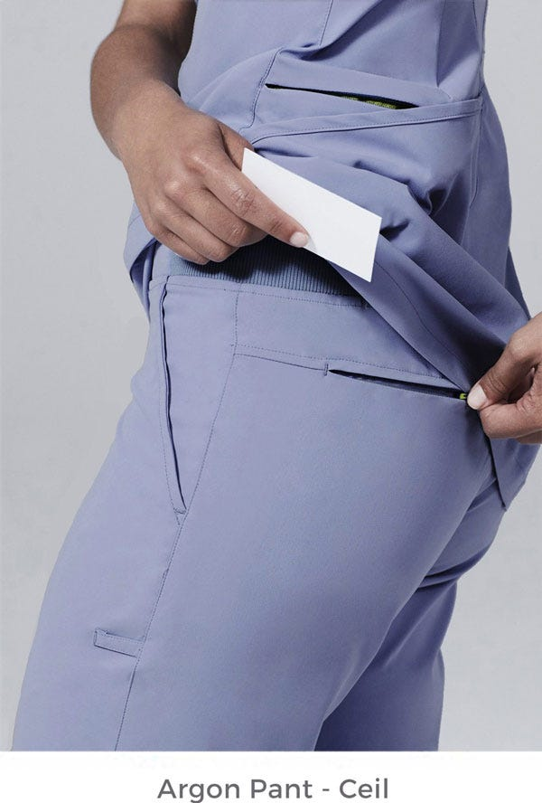 Argon Scrub Pant - Ceil
