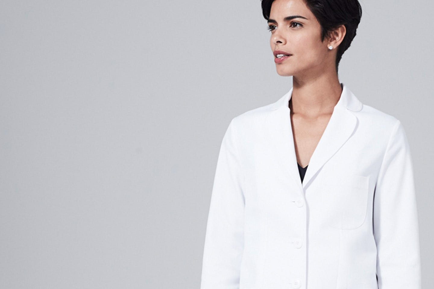 Ellody. women's lab coat