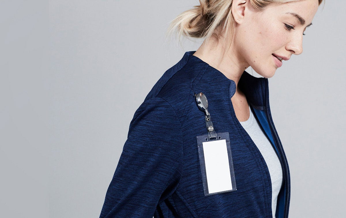 Ionic Women's Scrub Jacket
