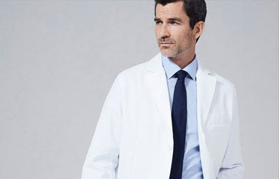 Lab coats for men