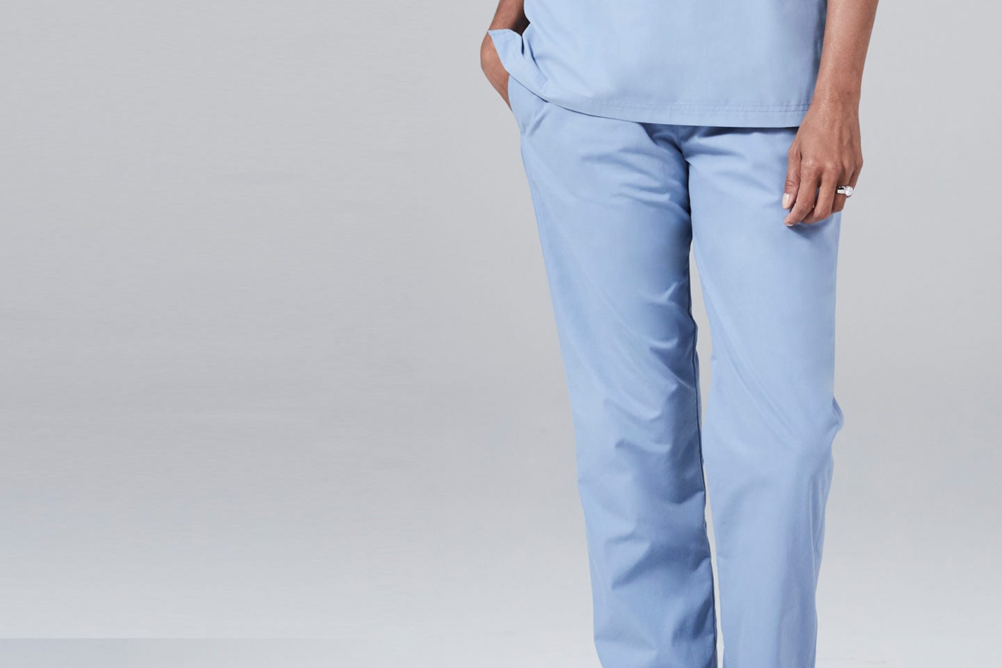 modern fit womens scrub pants