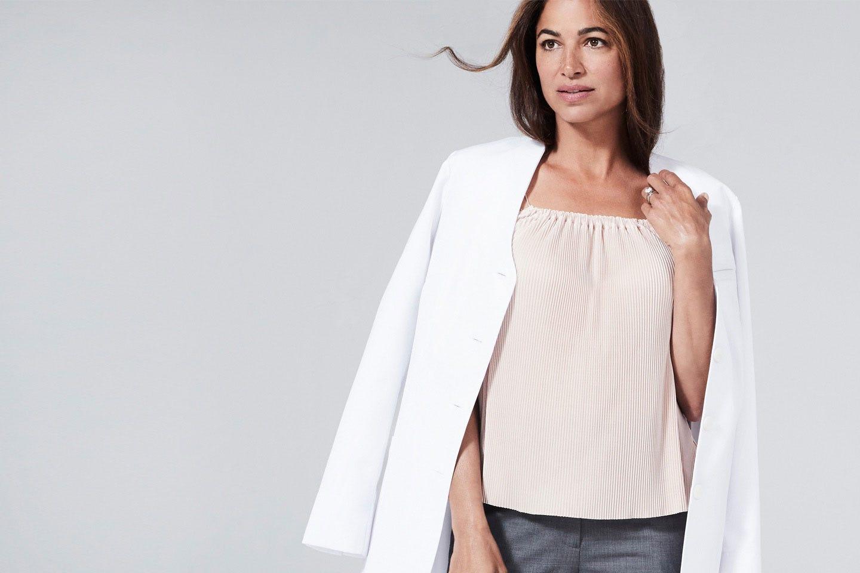 Rosalyn women's lab coat