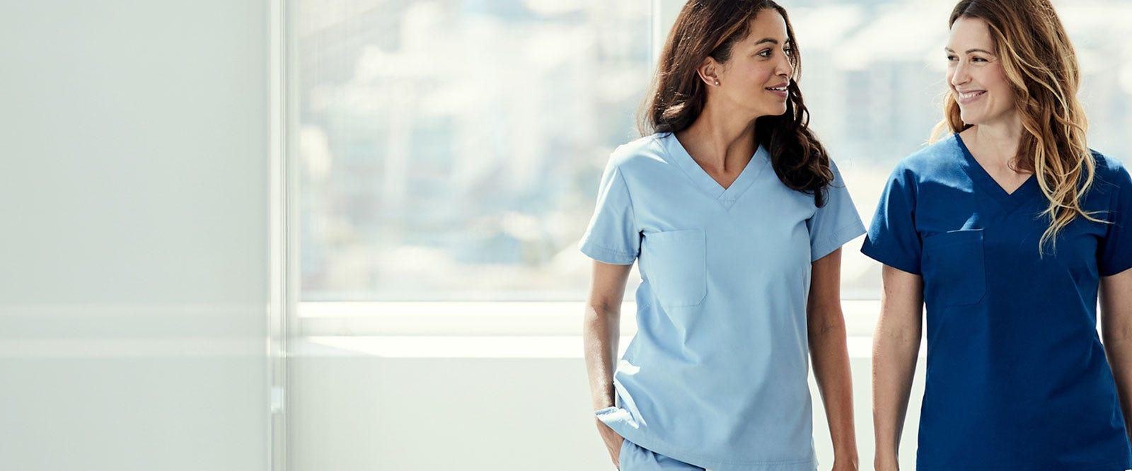womens physician scrubs