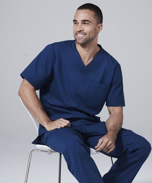 mens physician scrubs