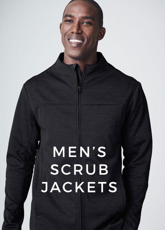 Mens scrub jackets