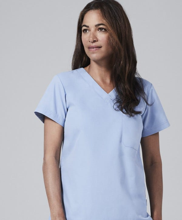 womens physician scrubs