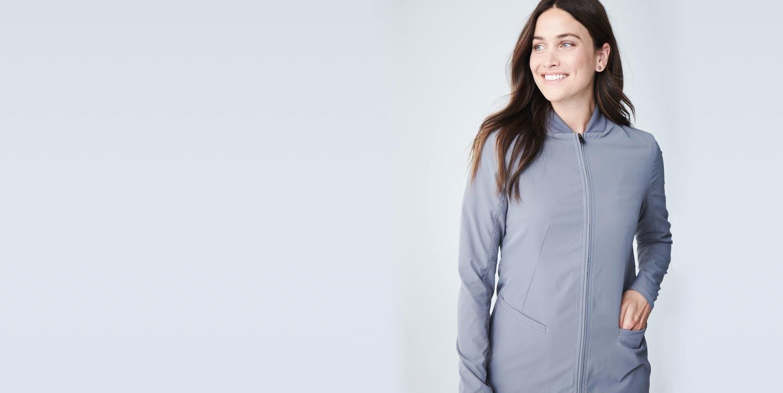 Kinetic Women's Scrub Jacket