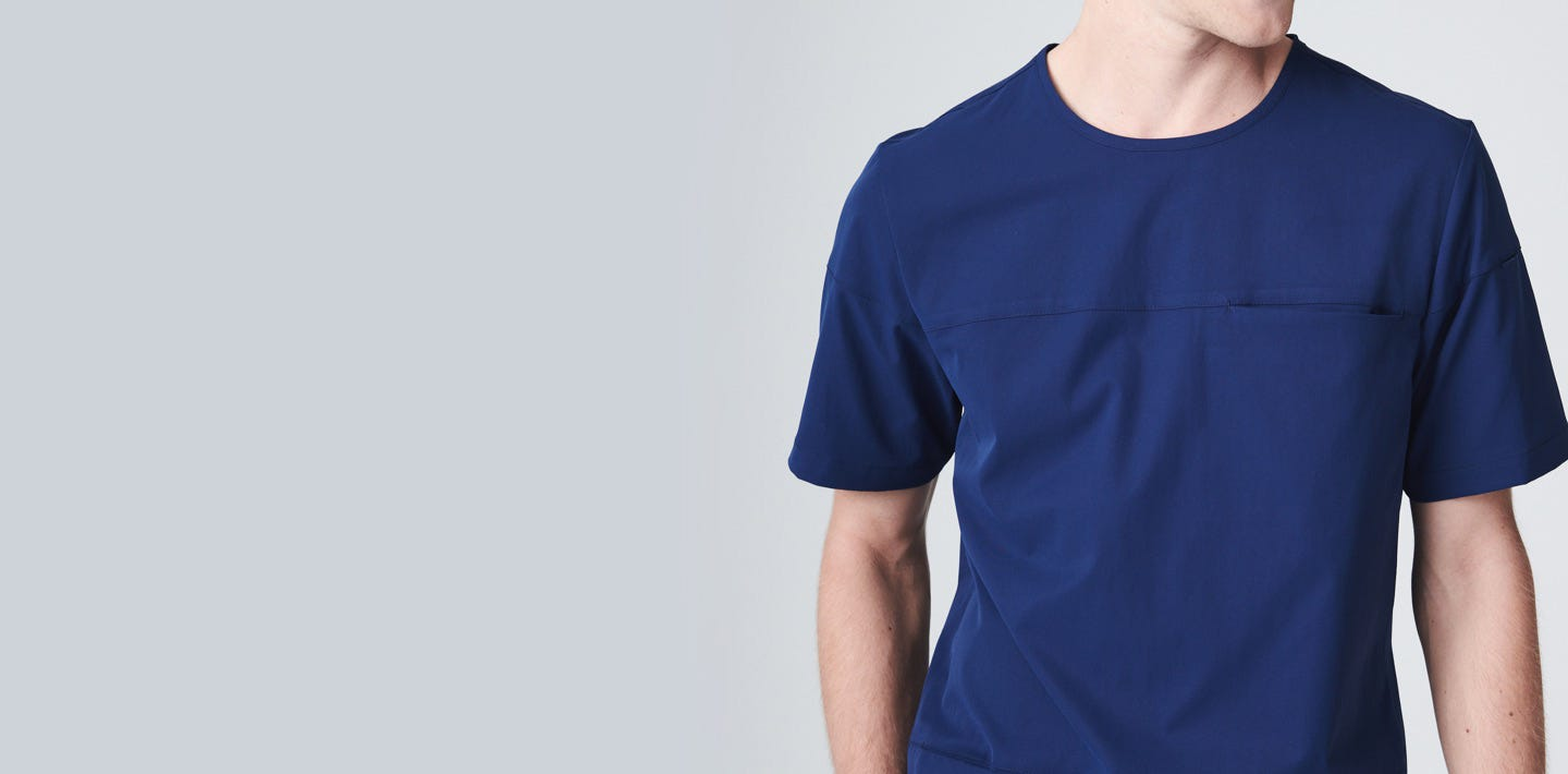 Men's Scrub Top Radius