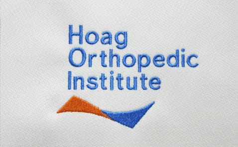 hoag ortho logo sewn out