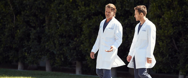 men wearing lab coats