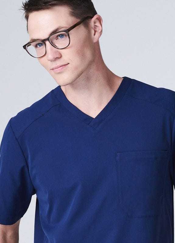 Mens nursing scrubs