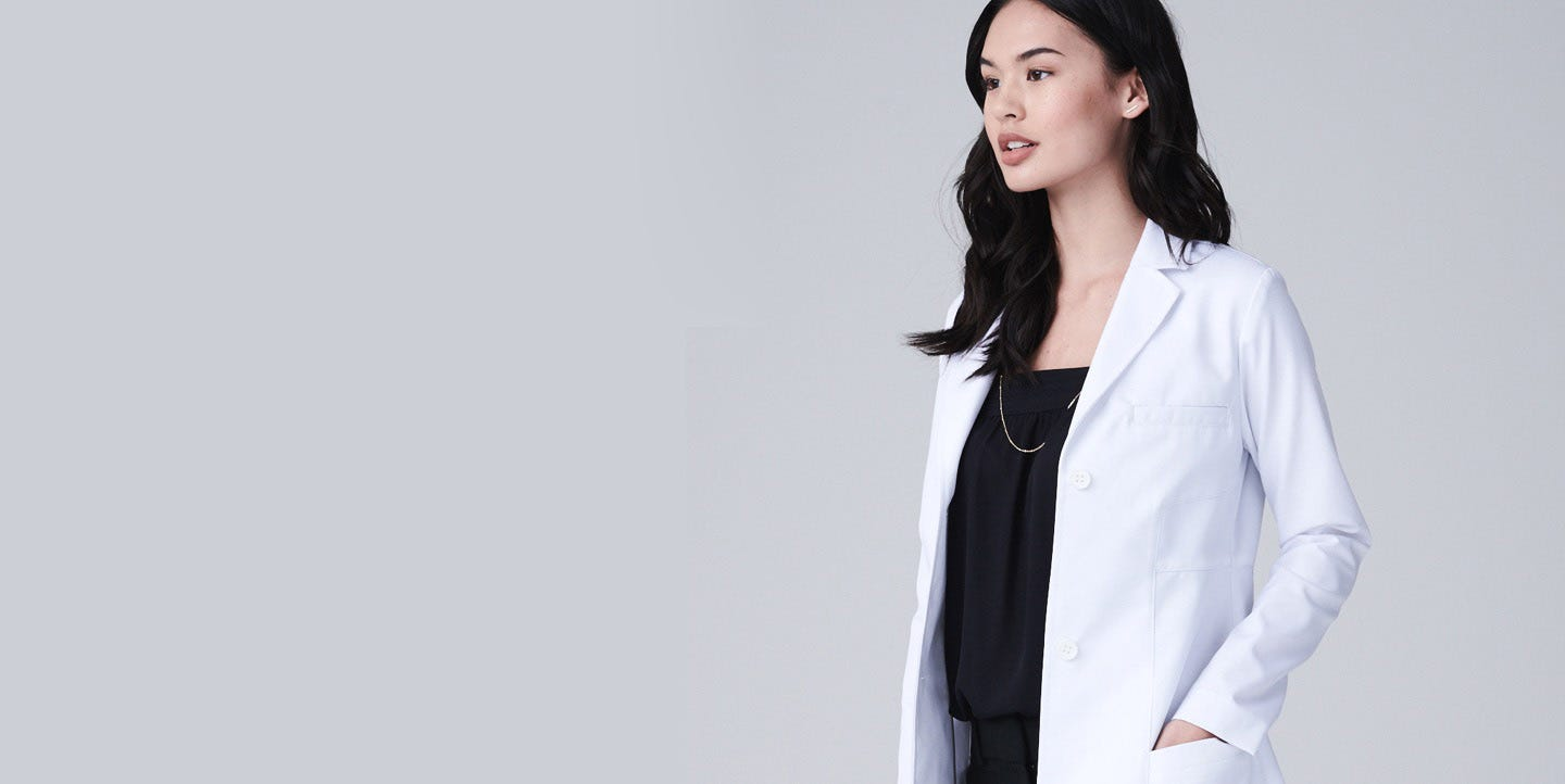 Vandi women's lab coat
