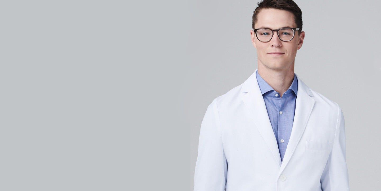 Vert men's lab coat