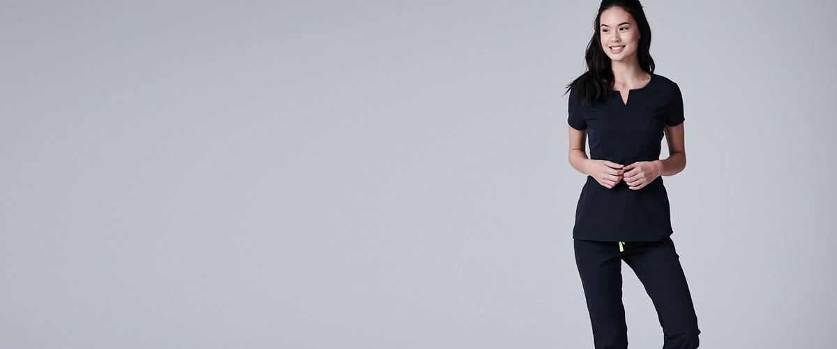 womens designer scrubs