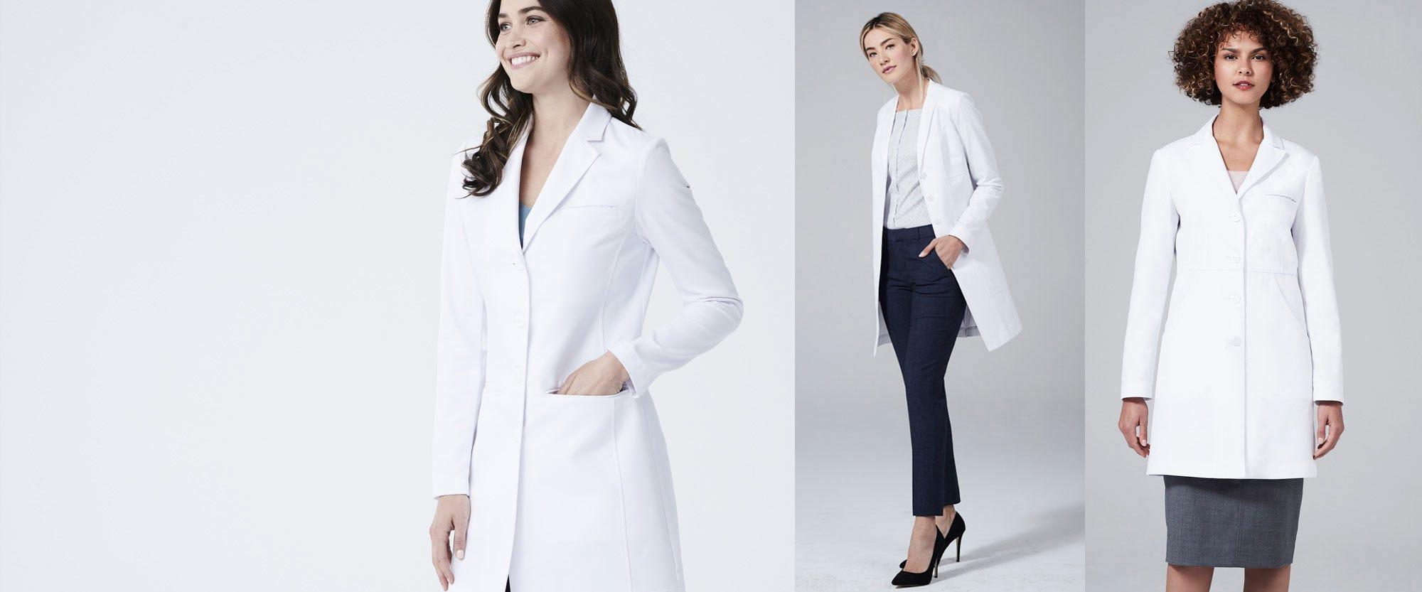 womens lab coats