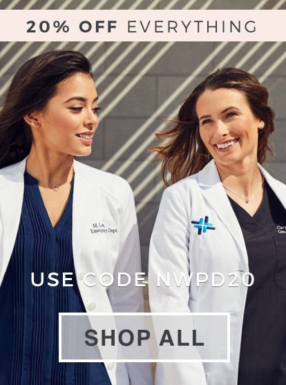lab coats and scrub uniforms for doctors