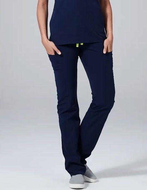 Navy Blue Scrub Pants for Women