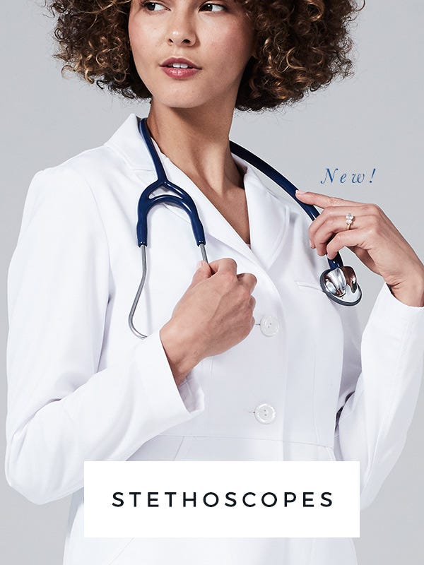stethoscopes and scrub uniforms for doctors