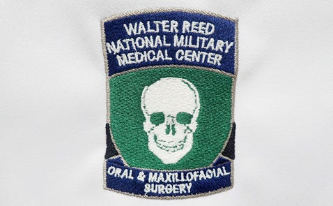 Walter Reed Oral and Maxillofacial logo