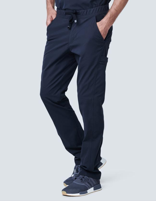 medical scrub pants for men