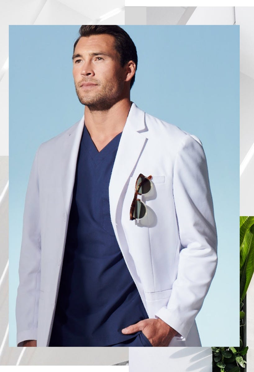 Exceptional Men's Lab Coats