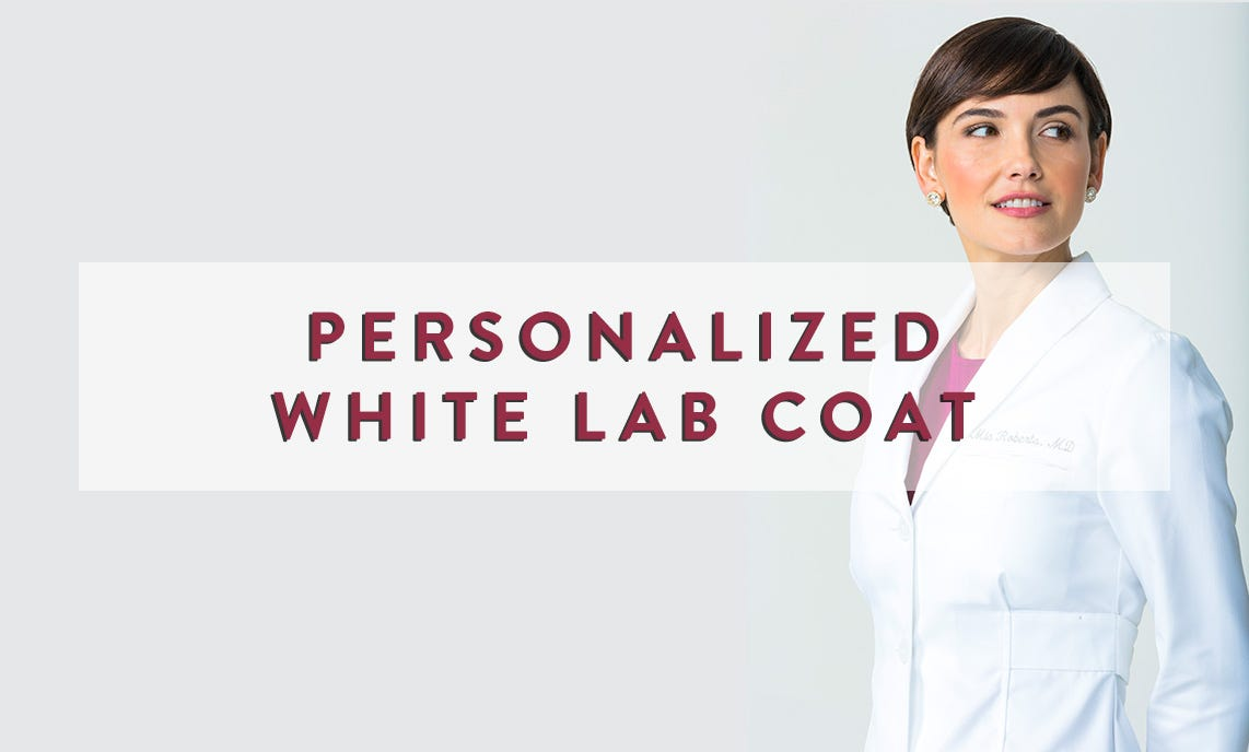 White Lab Coat Gifts For Female Doctors