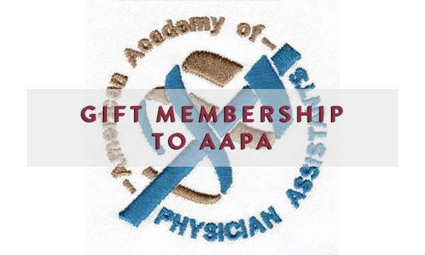 The American Academy Of Physician Istants Supports Pas In A Myriad Endeavors What Better Way To Show Your Support Than By Giving Gift
