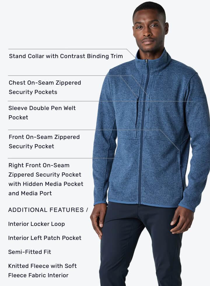 Strata Men's Fleece Jacket