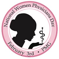 Image result for image of national women physicians day logo