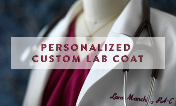 It S Very Important To Have One Name And Le On Lab Coats Medelita Makes This Simple Check Out These Surprise Your Pa With The