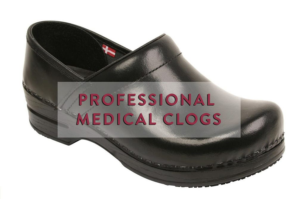 Sanita Leather Clogs Gifts For PAs