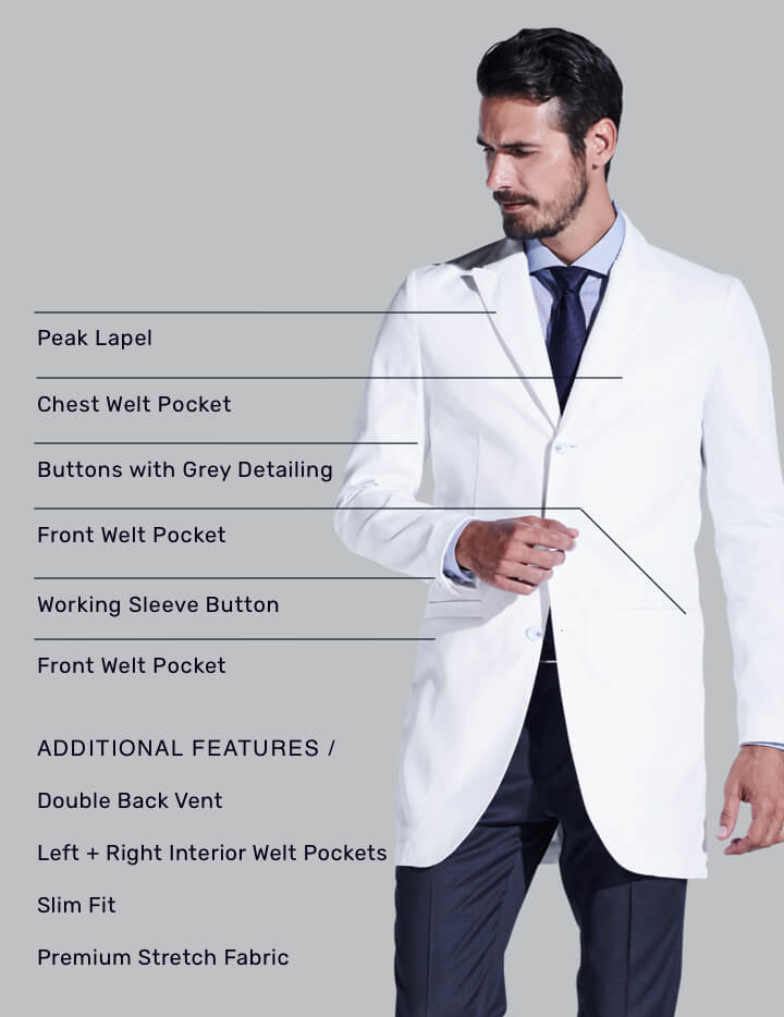 Bernard Lab Coat