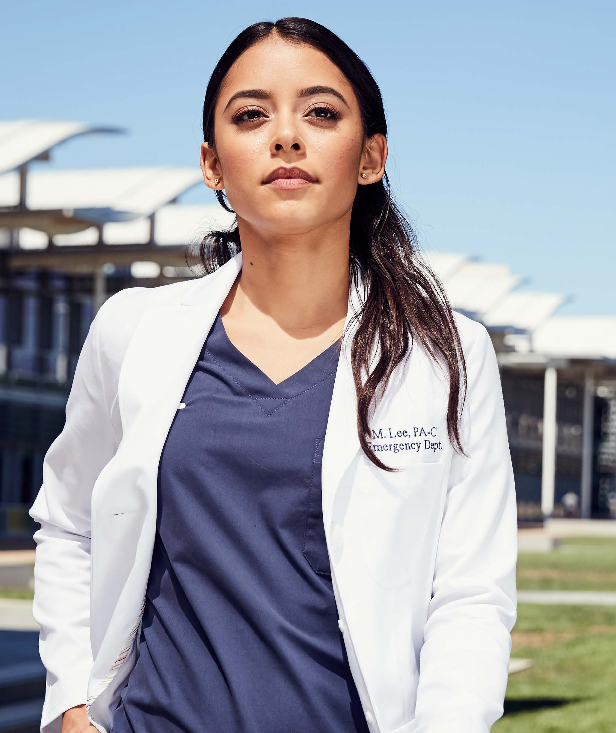 Estie Women's Lab Coat