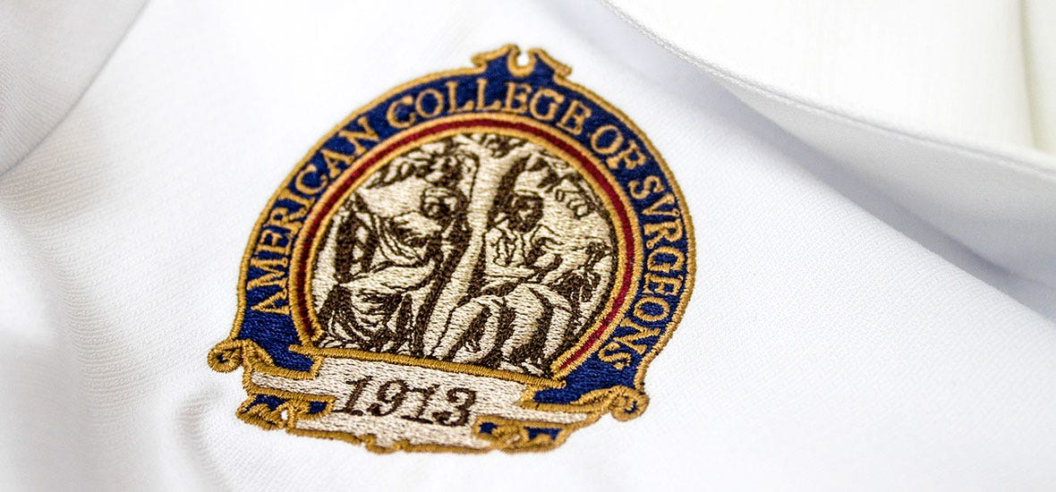 embroidery sample logo