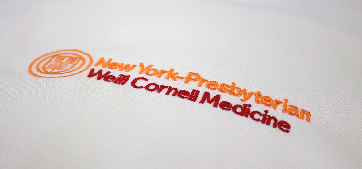 embroidery sample logo