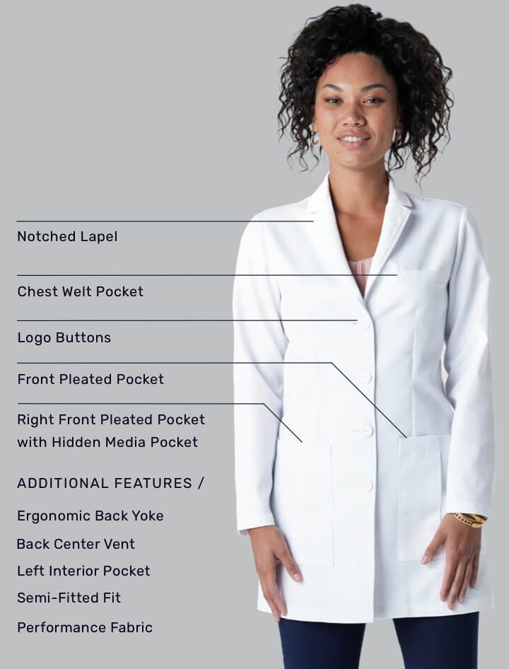 G. Cori Lab Coat