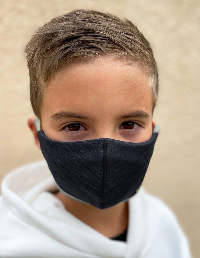 Adult face mask in black